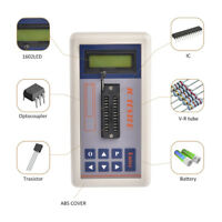 Transistor Tester Detect IC Meter Maintenance Digital led Tester MOS PNP NPN New