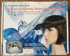 LED Head-wearing Reading, Timepieces Repairing Magnifier *Brand New*