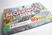Monopoly City - mit 80 3D Gebäuden - Hasbro - Vollständig !