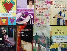 Buchpaket  Frauenromane  Buchsammlung Taschenbücher  Bacher , Woolf