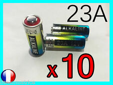 10 PILES BATTERIES 12V 23A A23 23AE MN21 A23S PORTAIL TELECOMMANDE ALARME