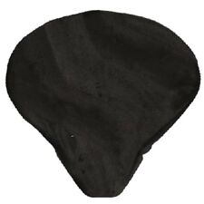 Cruiser Candy Seat Cover Black Plush Faux Fur Saddle Protection Comfy Smooth