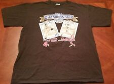 NEW CSA MLB RED SOX CARDINALS WORLD SERIES 2004 T-SHIRT SIZE L