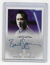 Star Trek Nemesis Brent Spinner As Data Autograph NA6