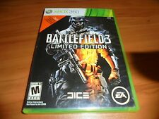 Battlefield 3 -- Limited Edition (Microsoft Xbox 360, 2011) Used X360