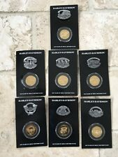 SEVEN Harley-Davidson 100th Anniversary Factory Collection pin badges new