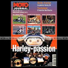 MOTO JOURNAL HS 9603 HORS-SERIE ★ HARLEY-PASSION N°2 1996 ★ 1410 TURBO BULLET