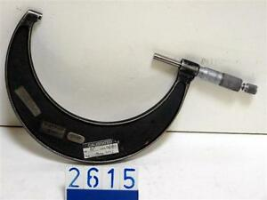 """Moore and Wright 5-6"""" external micrometer(2615)"""