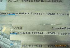 4.072 x 3 3/8 x 7 1/4    HP T7651  Fortal Aluminum Plate Bar Block  #12640