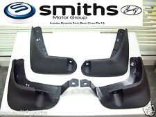 Brand New Genuine Hyundai I10 Front & Rear Mudflaps Mud Flaps Guards Splash
