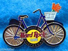 AMSTERDAM DUTCH BIKE SERIES BLUE BICYCLE SEPTEMBER 05 TULIPS Hard Rock Cafe PIN