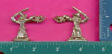 6 wholesale pewter wizard dragon figurines C3052
