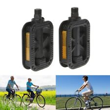 Bicycle Pedals Reflective Plastic Anti Slip Cycling Mountain Road Bike Universal