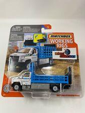 GMC 3500 Attenuator Truck * Working Rigs 2020 Matchbox H Case Release