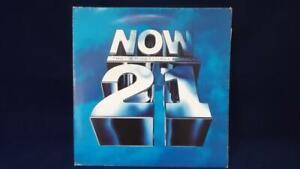 NOW THAT'S WHAT I CALL MUSIC 21 DOUBLE ALBUM VINYL - 1992 -VINYL FAIR, SLEEVE VG