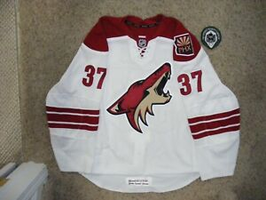 Phoenix Coyotes #37 Raffi Torres 11/12 Set 1 Away Game Issued Jersey  w/Team LOA