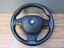M SPORTLENKRAD Original + BMW 5er F10 F11 + Lenkrad Airbag M-Paket Schaltwippen