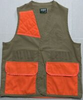 Vintage USA Saftbak Bird Hunting Shotgun Shell / Shooter's Vest Mens Large / Med