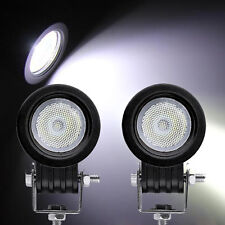 2P 10W Led Work Light Cree Flood Motorcycle Offroad SUV VAN Jeep Truck 4x4 ATV
