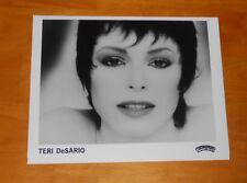 Teri DeSario Photo Poster Original Promo 8x10 Disco Funk Rare