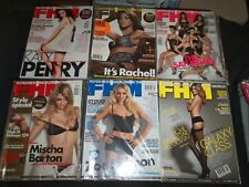 2009-2010 FHM MAGAZINE (FOR HIM) - UK EDITION- LOT OF 9 - RC 1064
