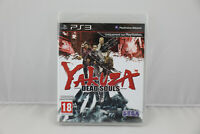 Jeu YAKUZA DEAD SOULS pour Playstation 3 (PS3) PAL NEUF sous blister VF