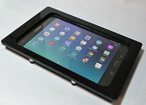Samsung Galaxy Tab A 8.0 2015 Black Acrylic Security Enclosure w Wall Mount Kit