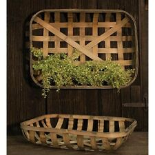 Long Tobacco Basket Set of 2 Baskets