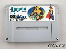 Lagoon Super Famicom Japanese Import SFC SNES Nintendo Japan US Seller B-