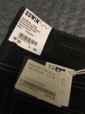 Edwin Indigo, Dark wash Skinny, Slim 32L Jeans for Men
