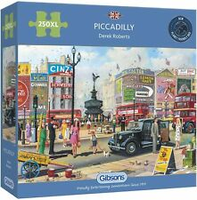 Gibsons - 250 XL BIG PIECE JIGSAW PUZZLE - Piccadilly London