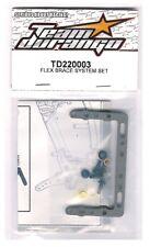 RC Team Durango TD220003 Flex Brace System Set DEX410 DEX410R 1/10 Buggy HOP-UP