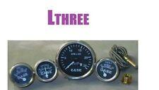 Case Tractor Gauge Set Tachometer,Temperature, Ammeter, Oil