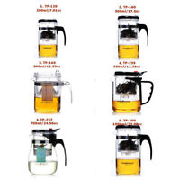 KAMJOVE Glass Gongfu Teapot With Infuser Mug 200-1000ml