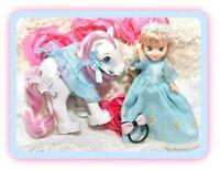 ❤️My Little Pony MLP G1 Vtg Megan Doll SUNDANCE Flower Darlings Pony Wear❤️