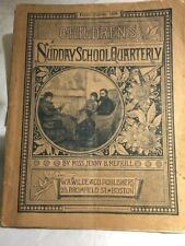 Children's Sunday School Quarterly 1885