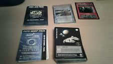 Star Trek And Star Wars CCG TCG Promo Lot Includes 1st Day Printing Promo Packs