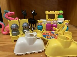 Vintage Fisher Price Little People Accessories for Castle Princess Knight Xtras