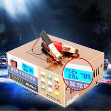 110V/220V Intelligent Pulse Repair Type Car Battery Charger for 12V/24V 100AH