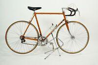 Vintage Jacques Anquetil Bicycle 58 cm RARE Steel Road Bike Mavic Simplex Nervar