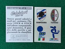 CALCIATORI 1994-95 94-1995 STICK STACK SAMPDORIA TORINO FIGC Figurina Panini NEW