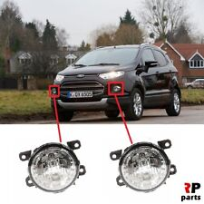 FOR FORD ECOSPORT 13-17 FRONT BUMPER FOGLIGHT LAMP PAIR WITH DAY RUNING LIGHT