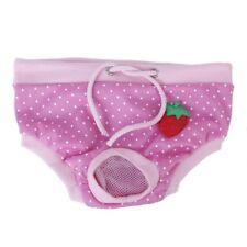 Lovely Female Puppy Pet Dog Short Panty Pant Diaper Underwear Sanitary S J2R6