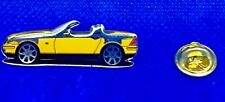 Mercedes Benz PIN SLK r170 VERNISSEE JAUNE-dimensions 40x13mm