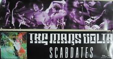 The Mars Volta 2005 Scabdates 2 sided streamer Promo Poster Mint New Old Stock