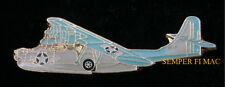 PBY-6 CATALINA FLYING BOAT US NAVY HAT PIN Consolidated ARMY AIR FORCE USA WOW