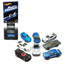 Hot Wheels Fast & Furious Complete Collectors set of 8 Cars 1:64 Box