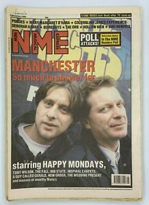 NME 2 December 1989 Happy Mondays Pogues Quireboys The Orb Hollow Men