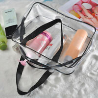 Waterproof PVC Zip Pouch Kit Transparent Clear Travel Storage Cosmetic Bag Hot
