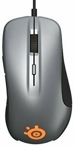 SteelSeries Rival 300, Optical Gaming Mouse - Gunmetal Grey From Japan